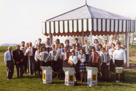 concert à Wivres en 1991