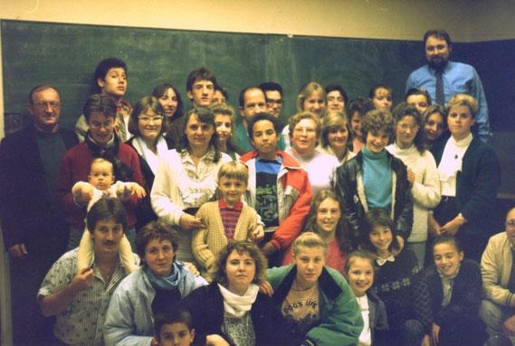 en 1989 à la création du club