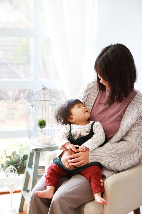 ママと赤ちゃん ベビーフォト フォトスタジオ コロボックル colobockle