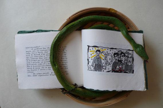 Je suis poinçonneur du Métropolitain...  Illustration d'Isabelle Marsala