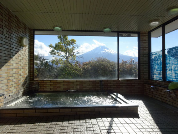 Fuji-san View from the Onsen Communal Bath