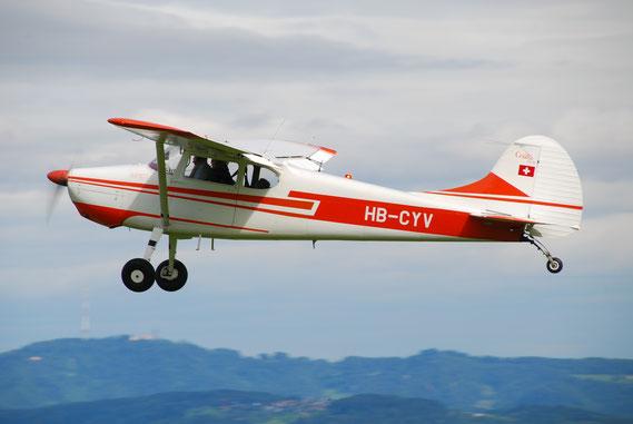 Cessna 170B - HB-CYV