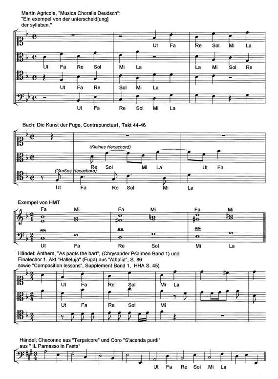 Martin Adricola | Händel | Hexachord | Hexachordsystem | hexachord system