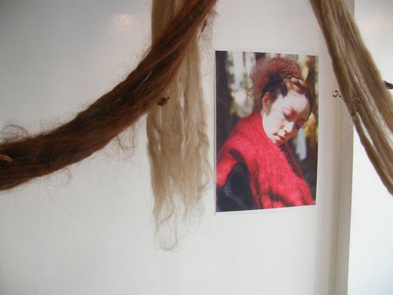 taichiさんの撮影した写真も展示されています。