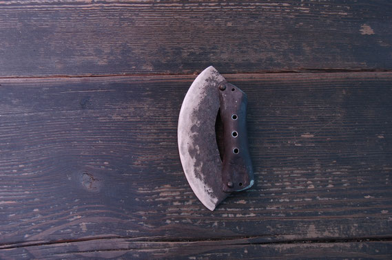 狩猟用皮はぎ(オーダー制作 7,000円)