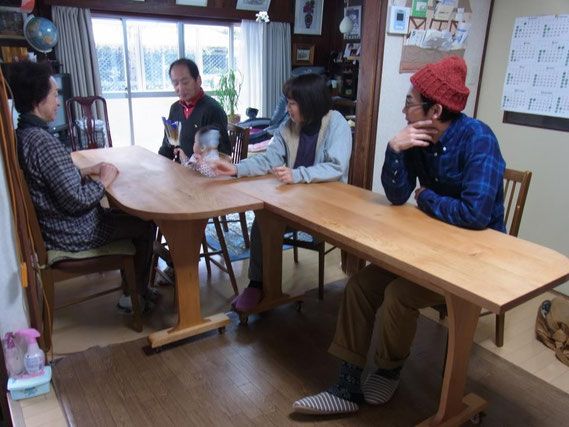 K邸 ダイニングテーブル