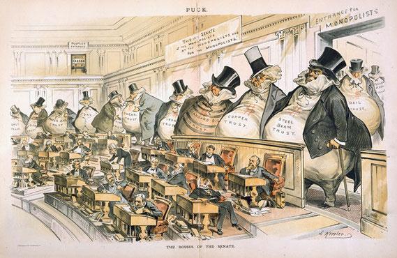 The Bosses of the Senate (1889)