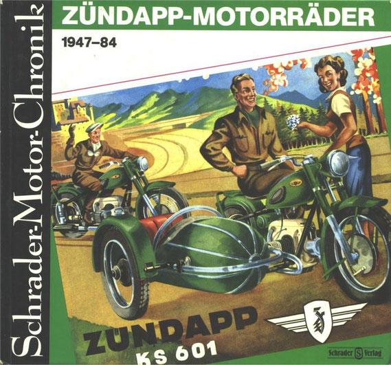 Zündapp de 1947 à 1984. 1994. ISBN 3-922617-37-9. Livre en Allemand.