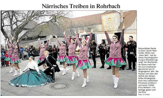 14.02.2017 Geisenfelder Zeitung, A. Emert