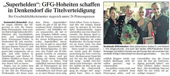 04.02.2017 Geisenfelder Zeitung, Gerhard Kohlhuber