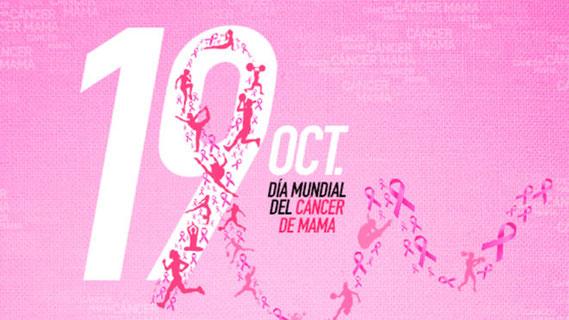 19 de Octubre, Día Internacional de la lucha contra el Cáncer de mama