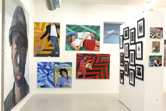 Exposition Miami avec la Galerie 55Bellechasse en décembre 2013