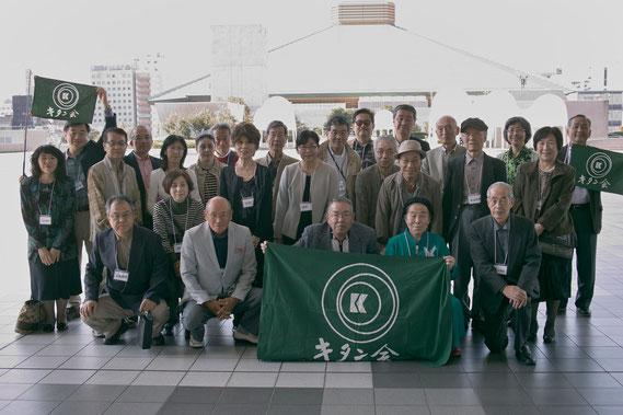 2014年秋の親睦行事(お江戸博物館前)