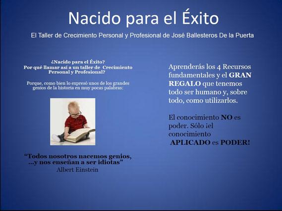 Taller de desarrollo personal y profesional