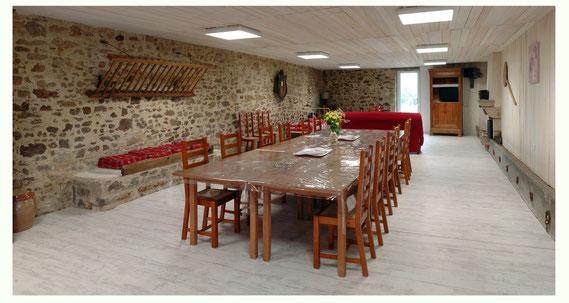 Salle à manger - Les Jardins du Prieuré
