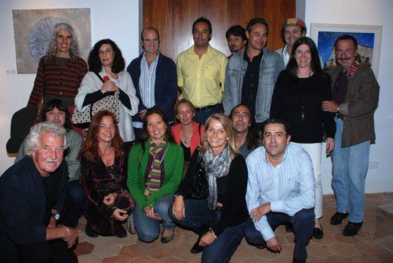 Die KünstlerInnen in der Costa Nord in Valldemossa