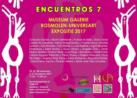 Encuentros II, 2012, Spanische Künstler im Museum Galerie Rosmolen, Zeddam, Holland