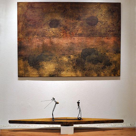 meins II von Amador Vallina in der Galerie Hellbusch, Mainz