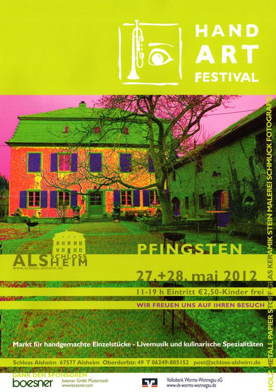 HandArt Festival I, Schloss Alsheim, Alemania