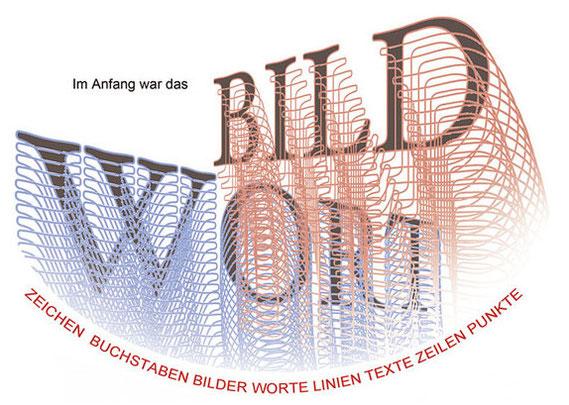 Ausstellung BILD WORt der Kunstinitiative LandRaum in Sprendlingen