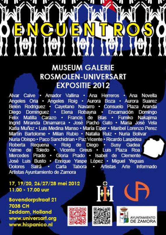 Encuentros II Museum Galerie Rosmolen Universart, Zeddam