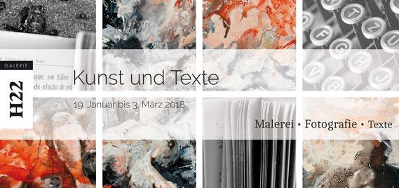 Kunst und Texte – Flyer