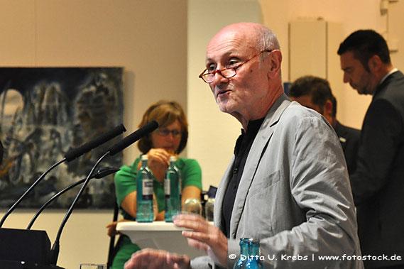 """Dr. Otto Martin, Vorsitzender Kunstverein Eisenturm Mainz: Einführung """"TraumHaft"""""""