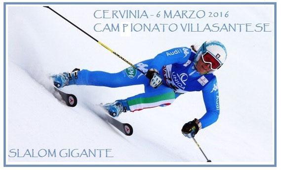 Cervinia - 6 marzo 2016 ///  1930 - 2016 Campionato villasantese di Slalom Gigante