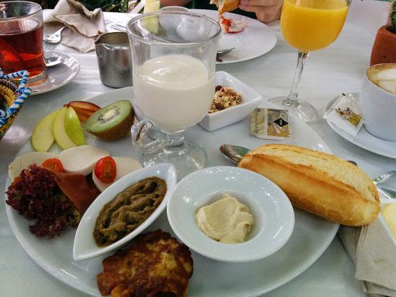 Frühstück Vegan Love im Bellaverde
