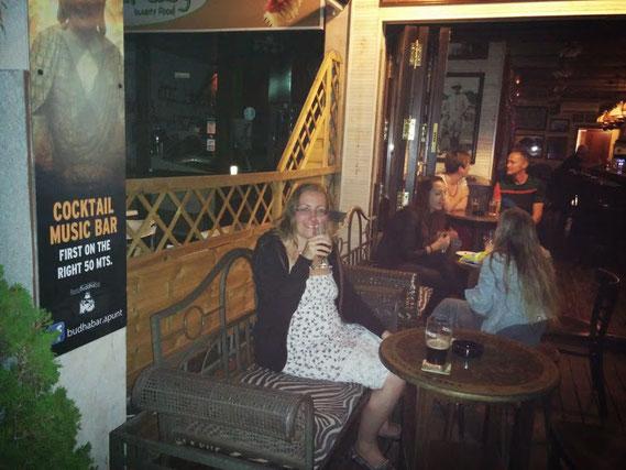 Im Mombasa Café in Puerto de Pollensa