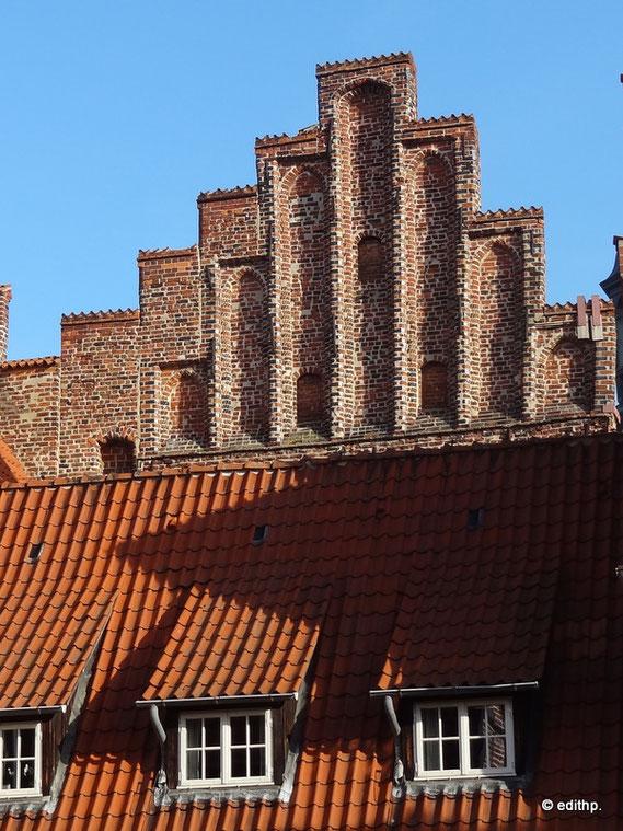 Gewandhaus, westlicher Treppengiebel