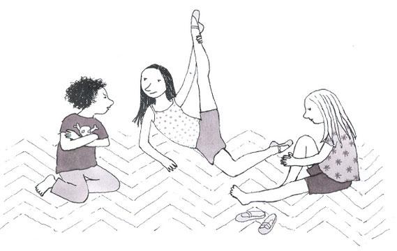 Lola Renn, Illustration, kids, children's book, Kinderbuch