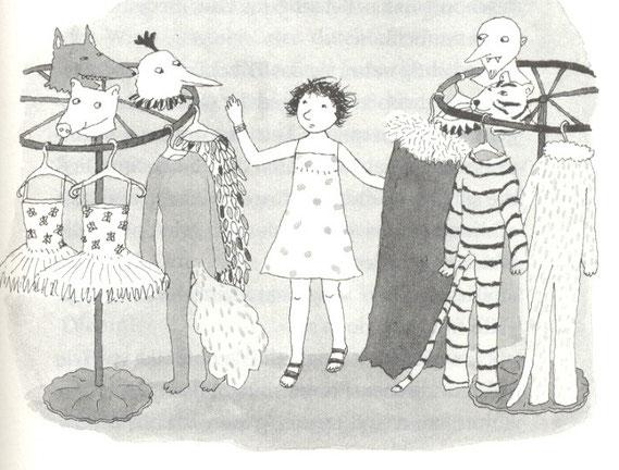 Lola Renn Illustration, Kostüme, Kinderbuch