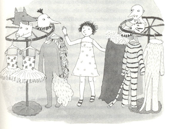 Lola Renn, Illustration, Kostüme, Kinderbuch, children's book, costumes