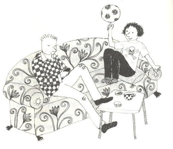 Lola Renn Illustration, Kinderbuch, children's book