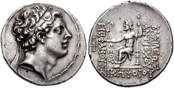 Au IIème siècle av J-C, Antiochos IV Epiphane, roi séleucide (175-164 av J-C) combat le culte juif avec la plus grande violence ! Le récit de cette période particulièrement difficile est relaté dans le premier livre des Maccabées.