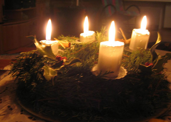 Adventskranz von 2004