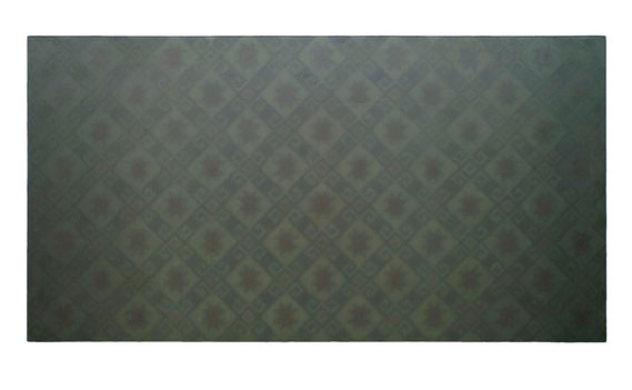 Fragment 2001 Kunstharz, Steinmehl, Ölfarbe auf Leinwand 210 x 110 cm