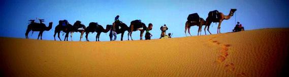 réveillon au désert et dunes