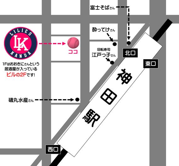 野球居酒屋 地図