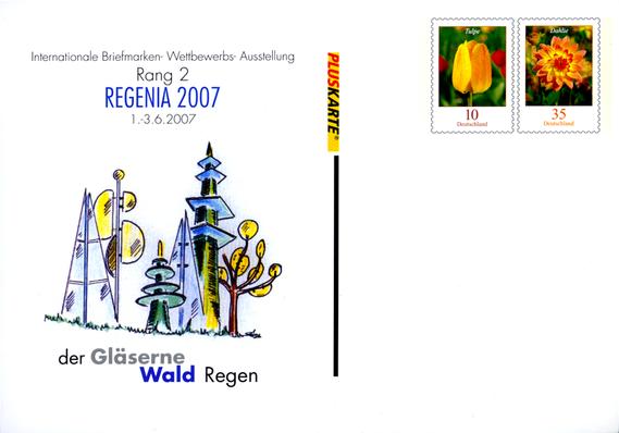 REGENIA REGINA 2007 Briefmarkenausstellung