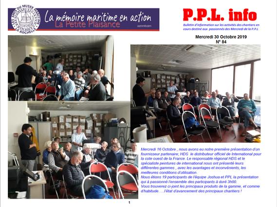 PPL Info se trouve dans nos rubriques Médiathèques
