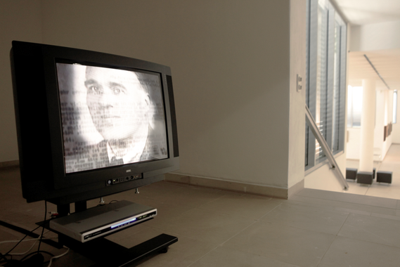 """Retrospective by Erwin Bowien in the Kunstmuseum Solingen in 2014: Presentation in the media room of the museum of documentation about Erwin Bowien by Georg Bayerle: """"The Art of Memory"""", 2010"""