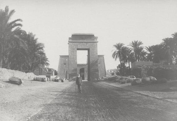 Adolf Heinrich Neufeldt bei seiner Ägypten Reise 1913/14