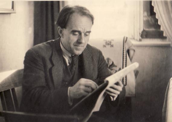 Erwin Bowien drawing, 1945