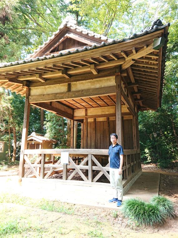 上野台八幡神社(深谷市)の神楽殿