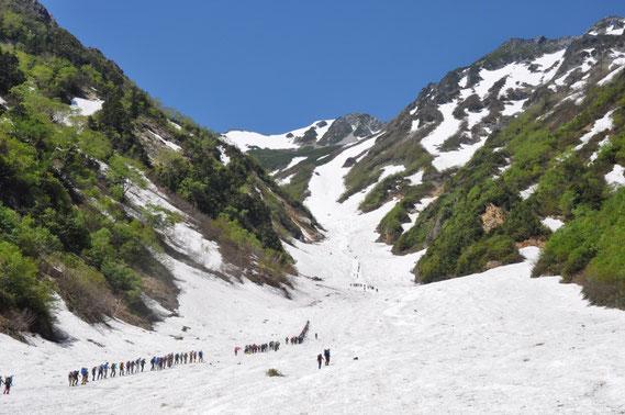 来年は私も登頂班に参加して大雪渓&峠まで行くぞ!!