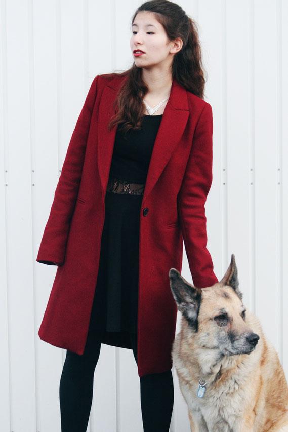 Roter Mantel Zara, Dog, Carmen Schubert