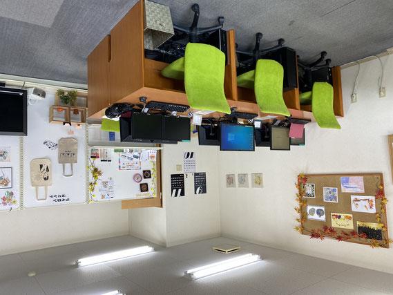 教室の写真です。