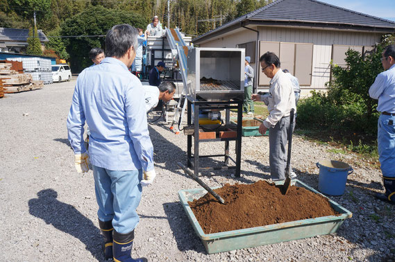 福島での実証実験